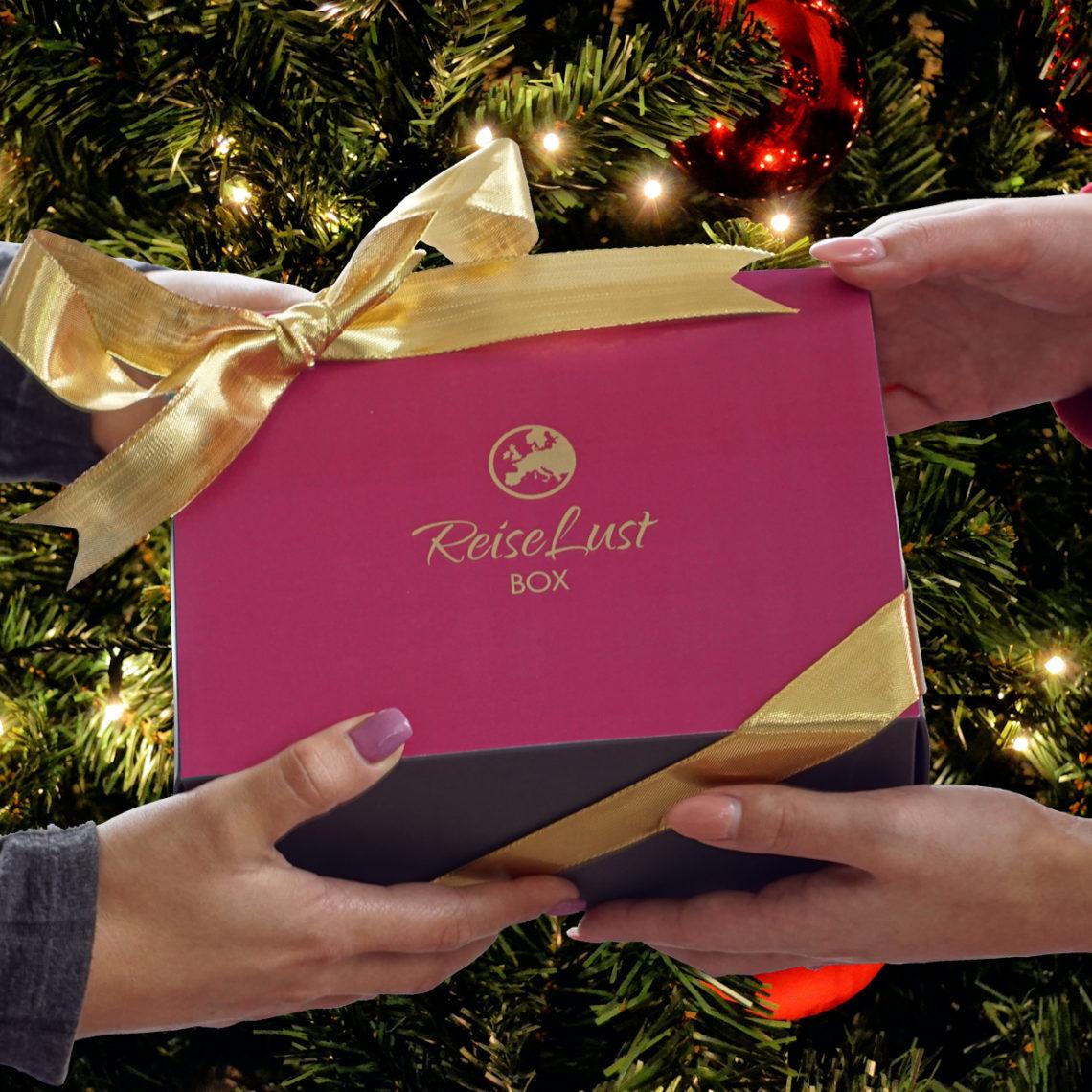 Erinnerungsgold ReiseLust Box Fernweh Unboxing Weihnachten