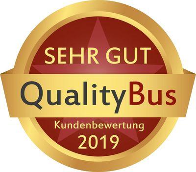 QualityBus Award 2019 Busreisen Peters
